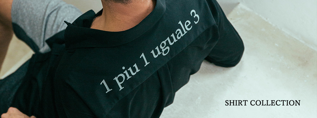 1piu1uguale3 shirts