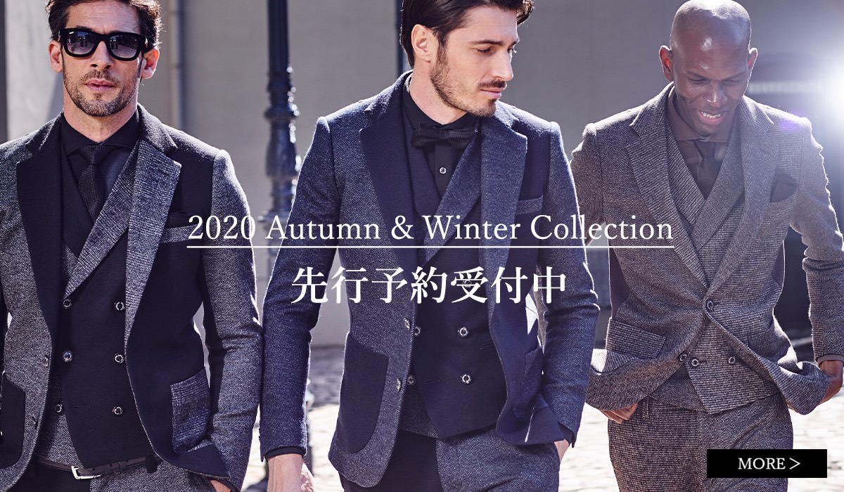 1PIU1UGUALE3 2020 A/W Collection 先行予約受付開始